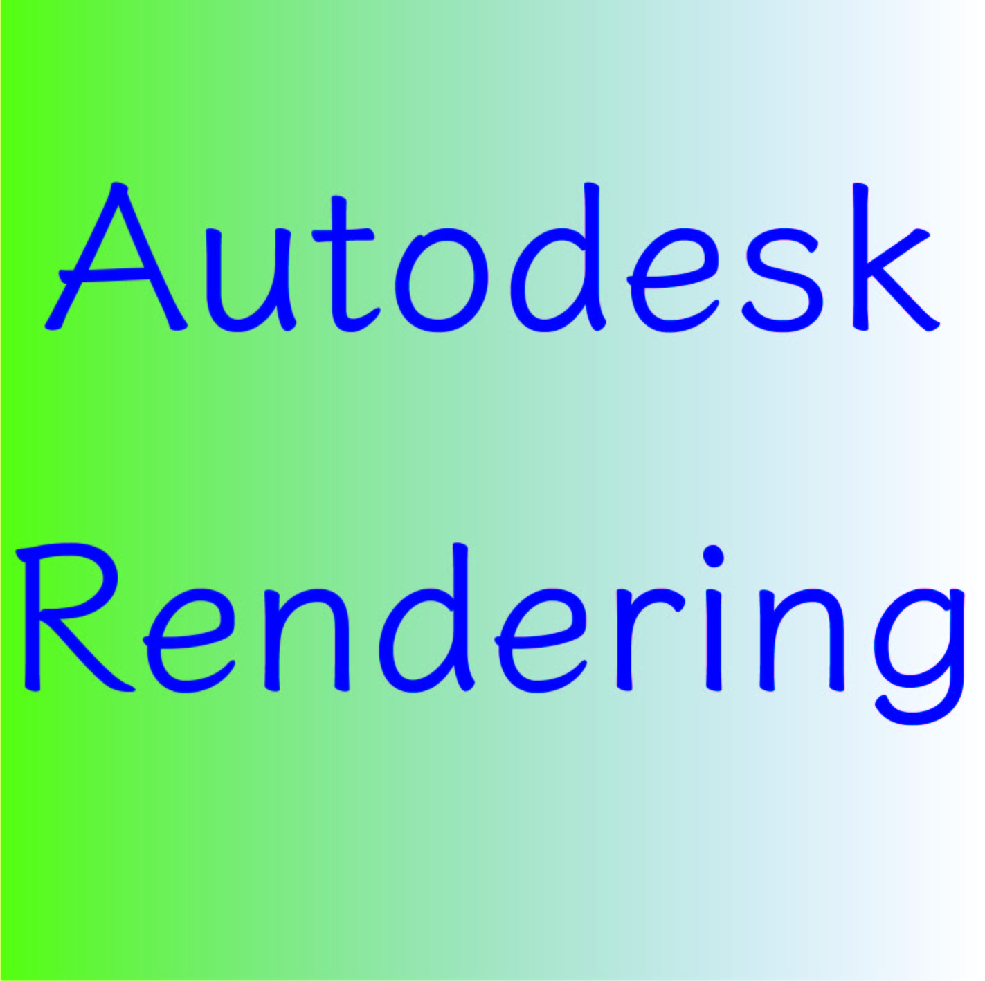 Autodesk Renderingとは